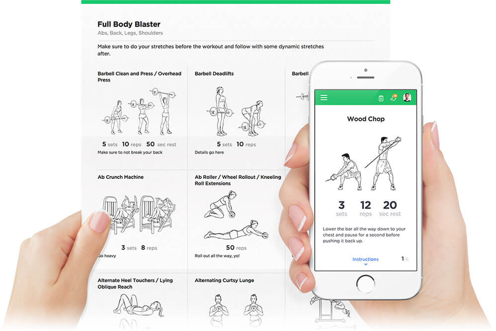 Workout Builder and Printable Workouts