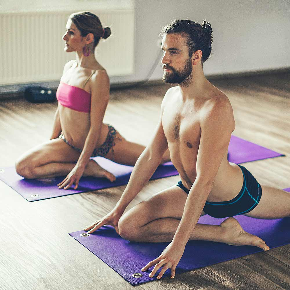 Dynamic Warm Up Yoga Sequence
