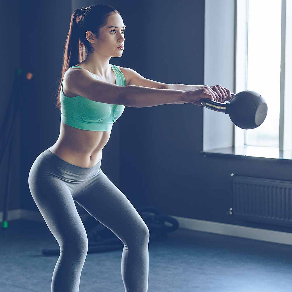 Kettle to the Metal: Fat Loss Kettlebell Workout