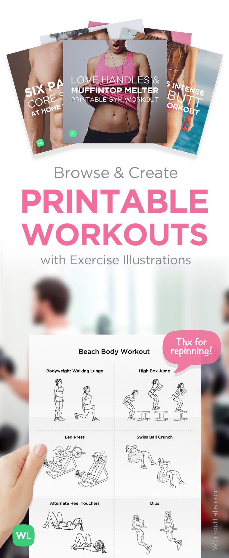 Download and create free illustrated workouts at https://workoutlabs.com