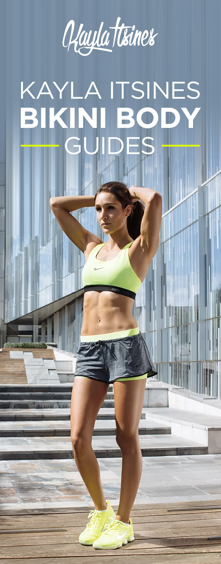 Earn your Bikini Body with Kayla Itsines' BBG workout and nutrition guides. Use coupon code to get 10% OFF: https://workoutlabs.com/s/9JPkx