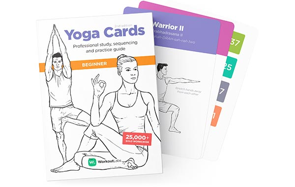 Workoutlabs Yoga Cards Beginners
