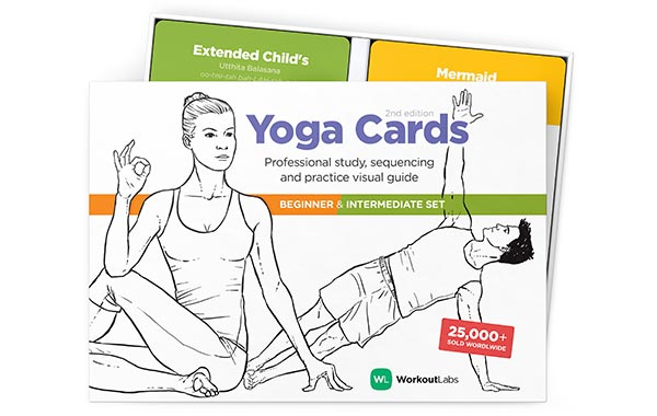 Workoutlabs Yoga Cards Set
