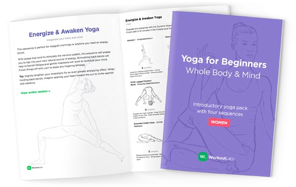 Yoga Beginners Workoutlabs Ebook