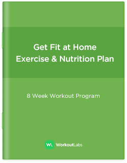 Get Fit at Home - No-Equipment Workout Program for Men & Women
