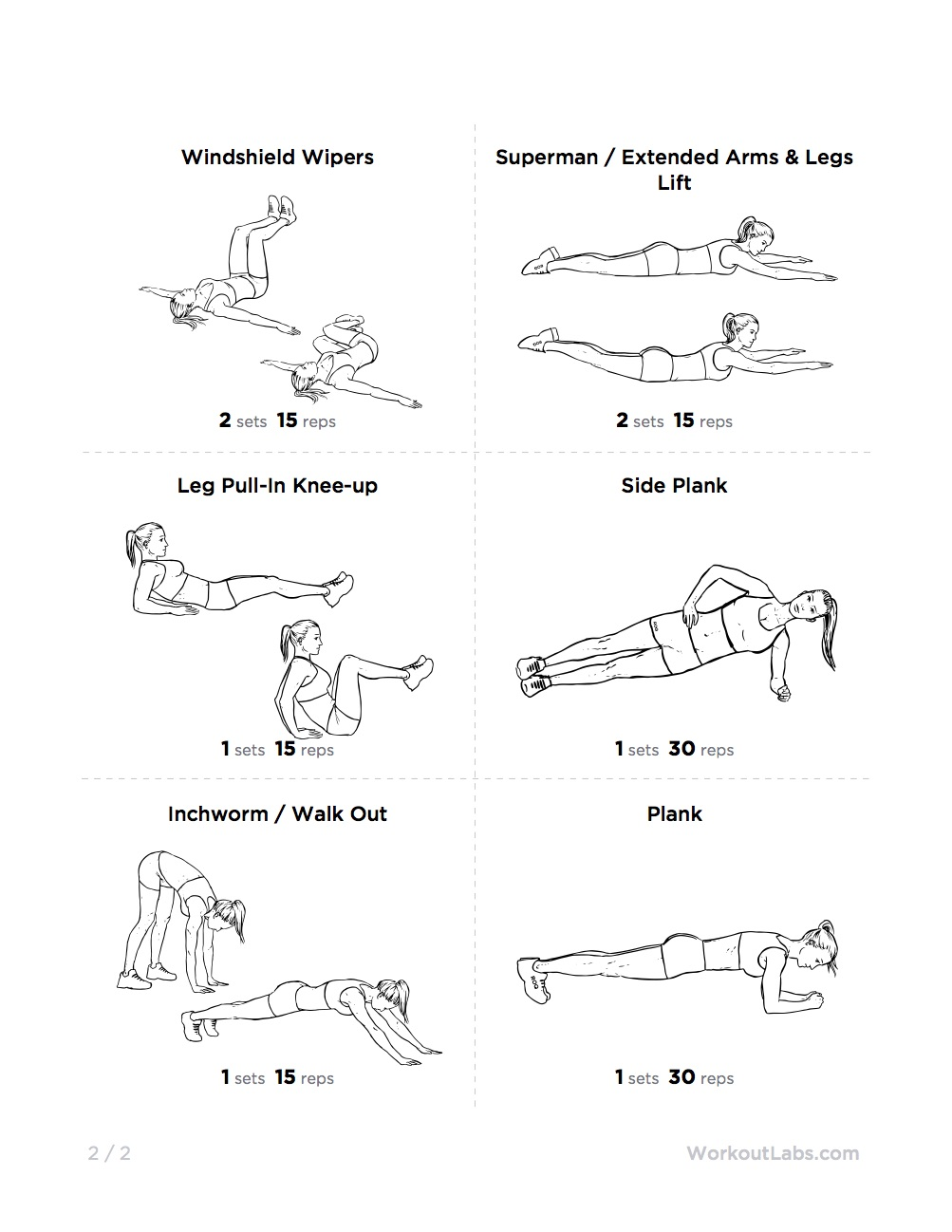 Flat Stomach Belly Fat Blaster At Home Workout For Men  Women-4994