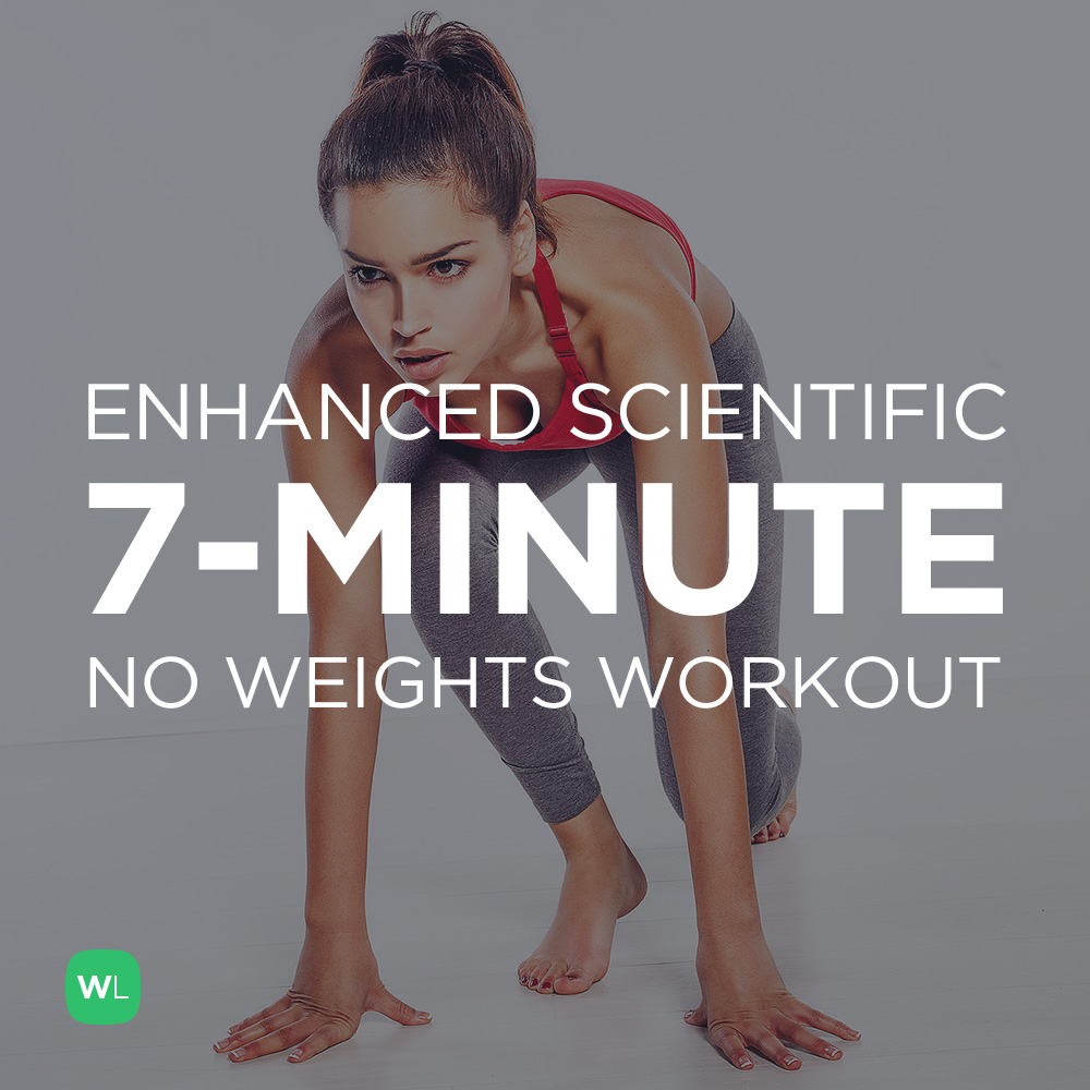 7-Minute Enhanced Scientific at Home Workout for Men & Women