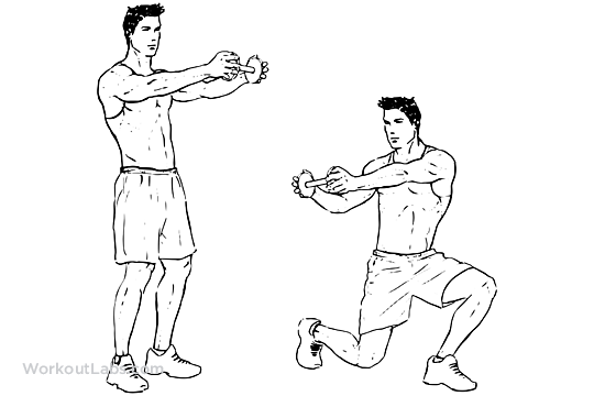 Lunge Twists – WorkoutLabs Exercise Guide